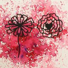 JC Metal Cutting Dies for Scrapbooking 2pcs Flowers 2019 Die Stencil Handmade Paper Cut Card Making Model Decoration
