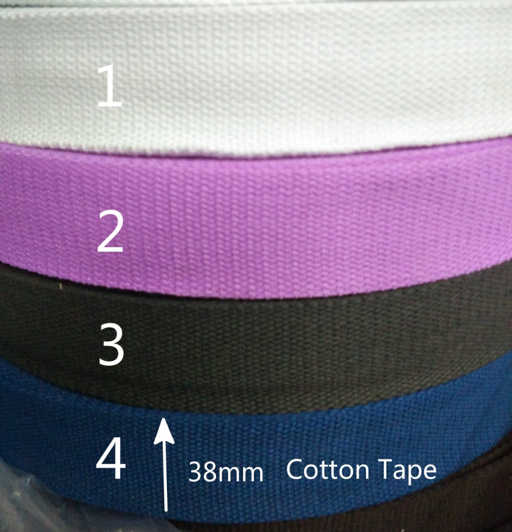 White cotton apron tape