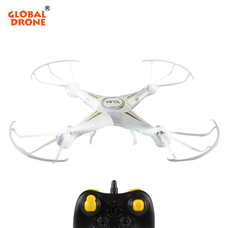 Global Drone D73 RC Helicopter 6 Axis Gyro 2.4GHz Headless Mode Quadcopter 3D Flip One Key Return LED Light Dron Toys For Kids