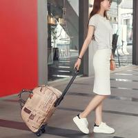 High Quality Luggage Bag Travel Duffle Trolley Bag Rolling Suitcase Trolley Women Men Travel Bags With Wheel Carry on Bag Unisex