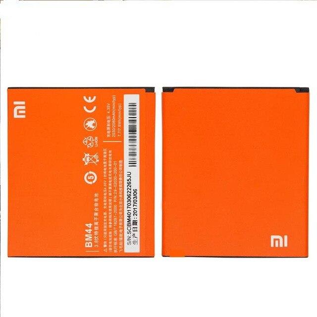 Original mi Phone Replacement Batteries Genuine Lipo Lithium Battery BM44 For RedMi2/1s 2A  Miui Millet High-capacity 2200mAOriginal mi Phone Replacement Batteries Genuine Lipo Lithium Battery BM44 For RedMi2/1s 2A  Miui Millet High-capacity 2200mA