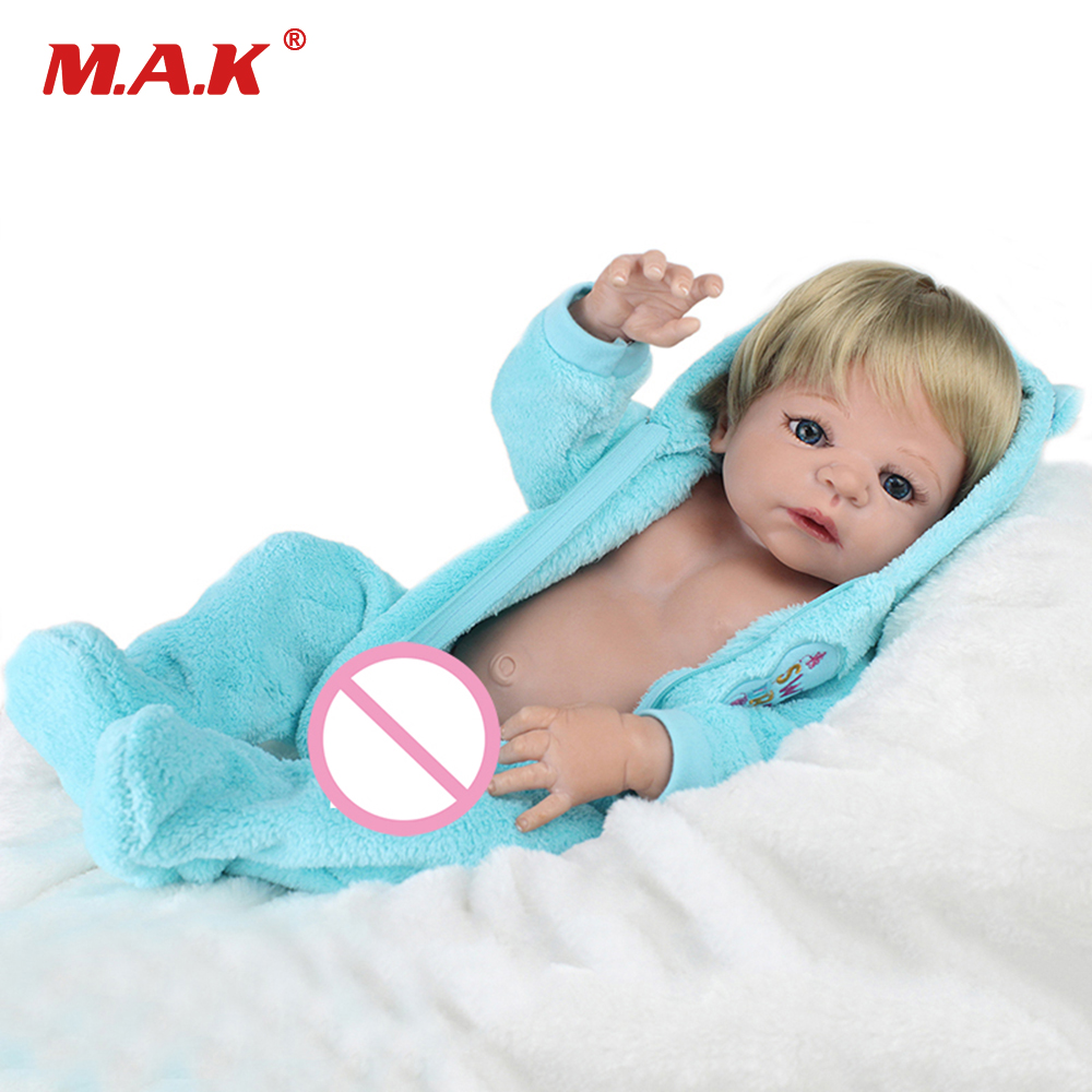 Christmas Gift for Boys and Girls 22inches Reborn Baby Doll 55cm Baby Reborn Full Body Silicone Dolls Children Toys