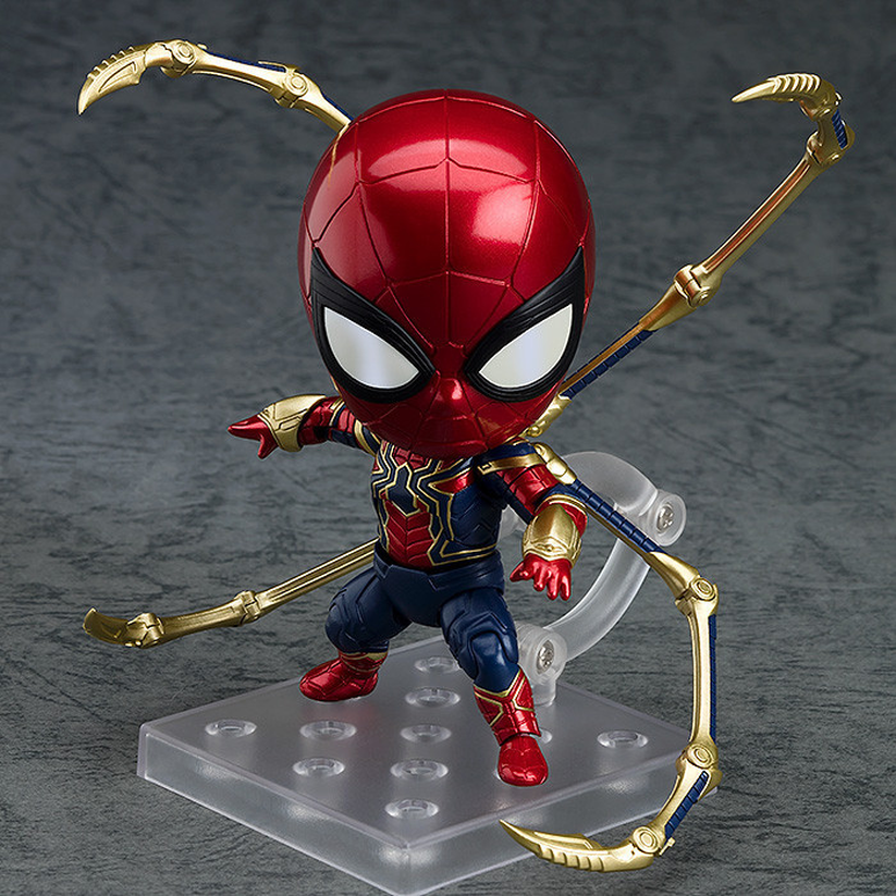 10cm Hot Toys Marvel Avengers Infinity War Iron Spider Spiderman Action Figure PVC Spider Man Figure Collectible Model Toy10cm Hot Toys Marvel Avengers Infinity War Iron Spider Spiderman Action Figure PVC Spider Man Figure Collectible Model Toy