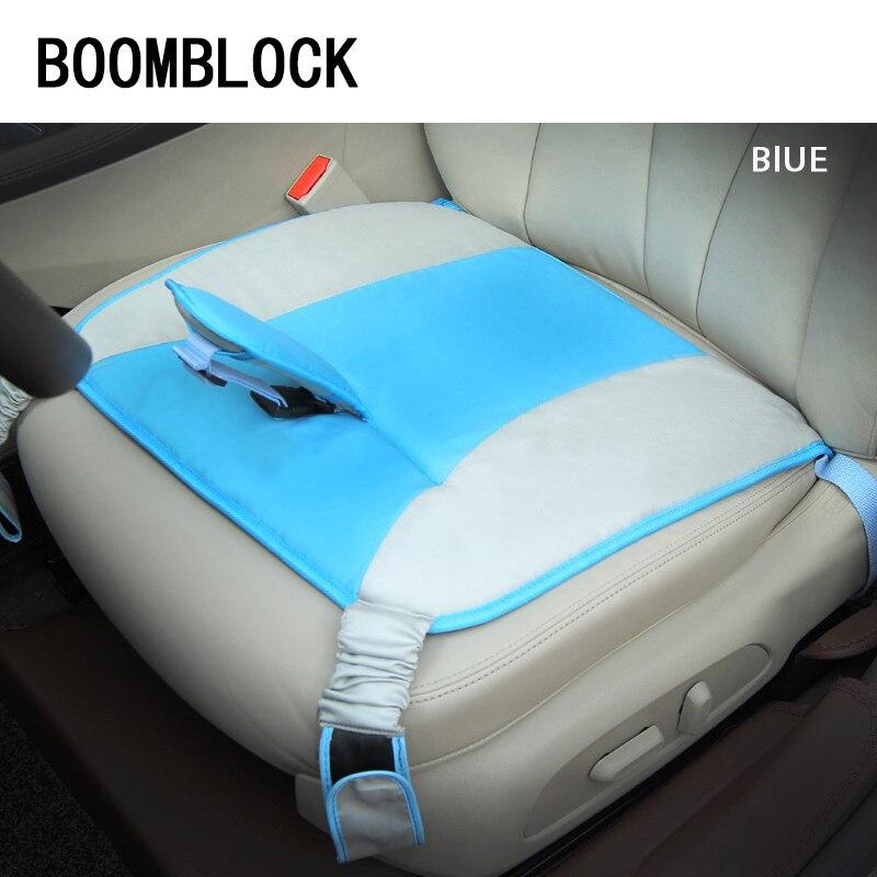 BOOMBLOCK 1pcs Car Seat Covers Pregnant Baby Safety Cushion For Saab Chevrolet Cruze VW Passat B5 B6 B7 Toyota Corolla 2008 RAV4