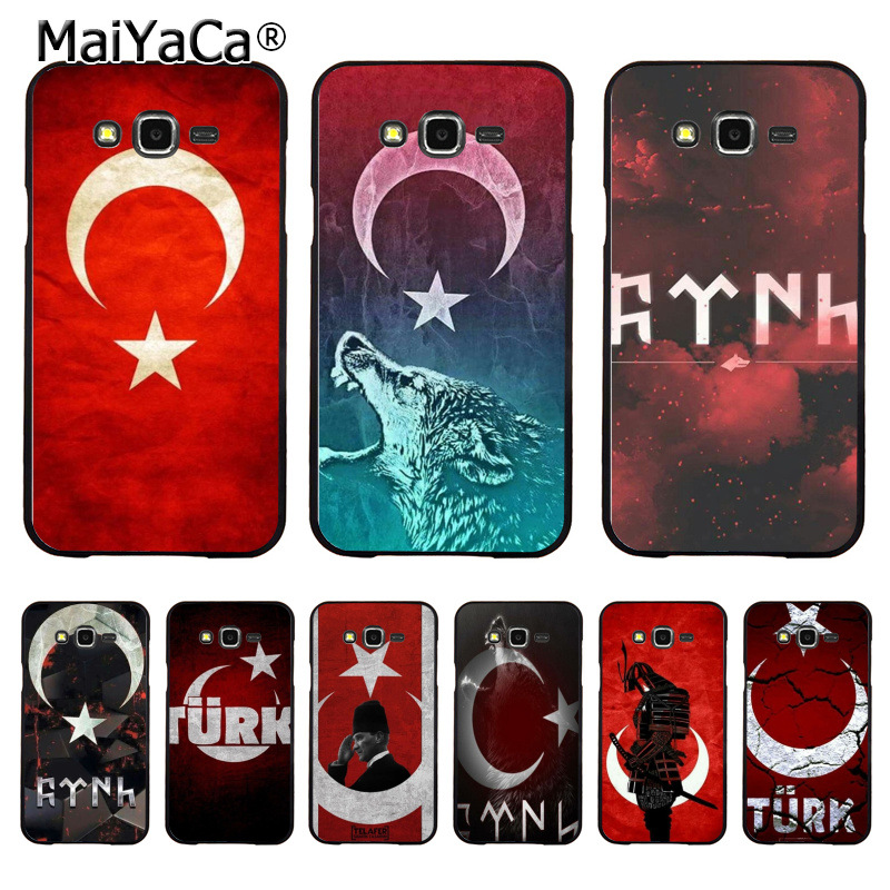 MaiYaCa Flag of Turkey Istanbul Antalya mustafa DIY Painted Coque Phone Case for Samsung J1 J3 J5 J7 Note 3 Note 4 Note 5 ...