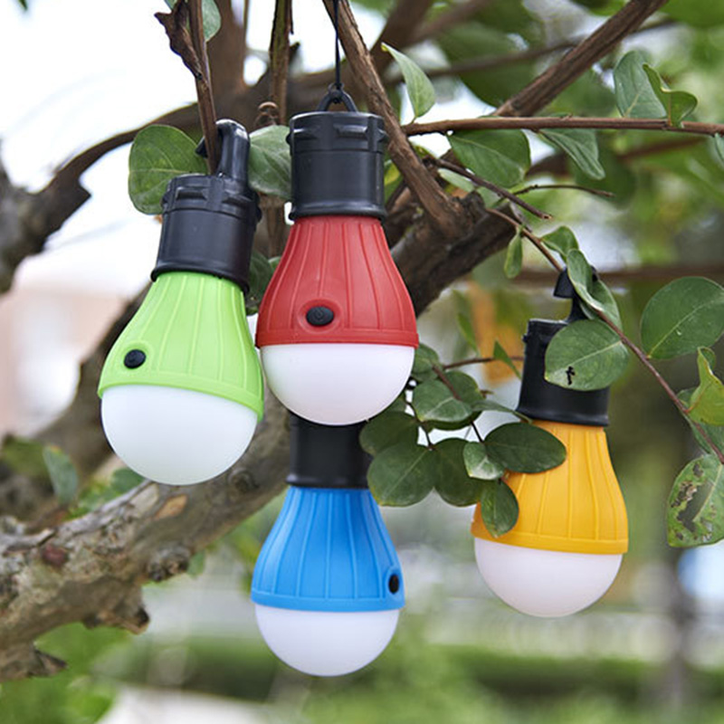SOS 3 LED Portable Emergency Camping Tent Soft Light Outdoor Hanging Lanters Bulb Fishing Lantern Hiking Energy Saving Lamp