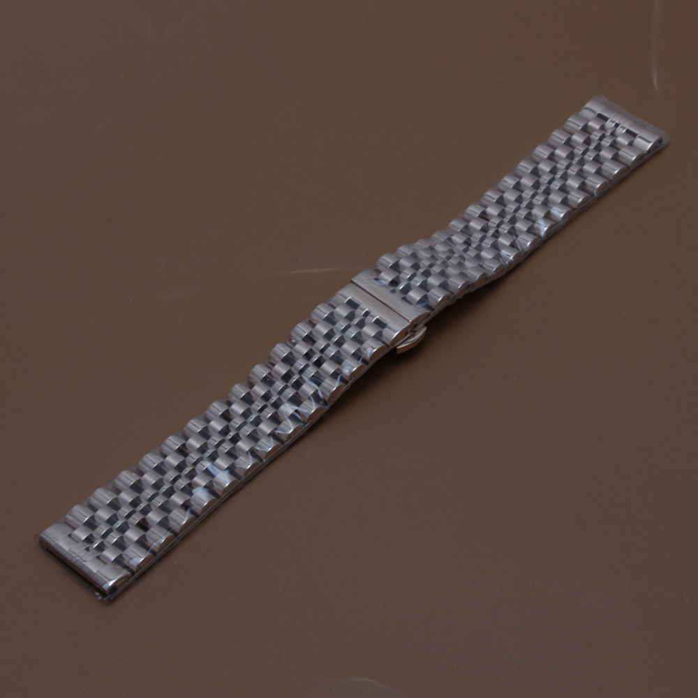 High Quality Watch Band Strap free curved ends accessories bracelet watchband luxury brand 17mm 18 19 20 21 22mm Silver rosegold 9mm 11mm 12mm watch accessories new high quality metal watch band strap bracelets