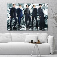 796849a80 SHINee Korea Popular Combination Art Silk Poster Home Decor Picture For  Living Room