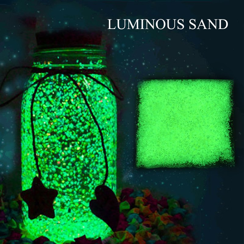 цена на 10g Luminous Party DIY Bright Glow in the Dark Paint Star Wishing Bottle Fluorescent Particles Night Room Romance Decor Gift