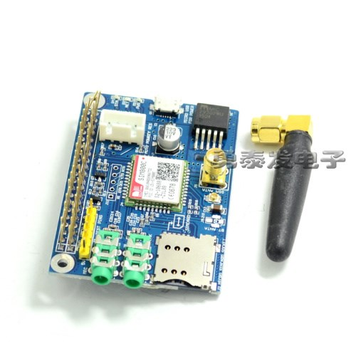 Hot sim800c gprs gsm development board module for raspberry raspberry artdeco магнитный футляр beauty box duo