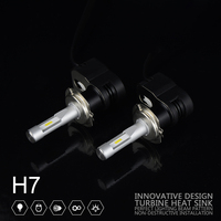 2X Souel GSP 30w T5 4200LM H7 Car LED Headlight High Power Auto LED Head Fog