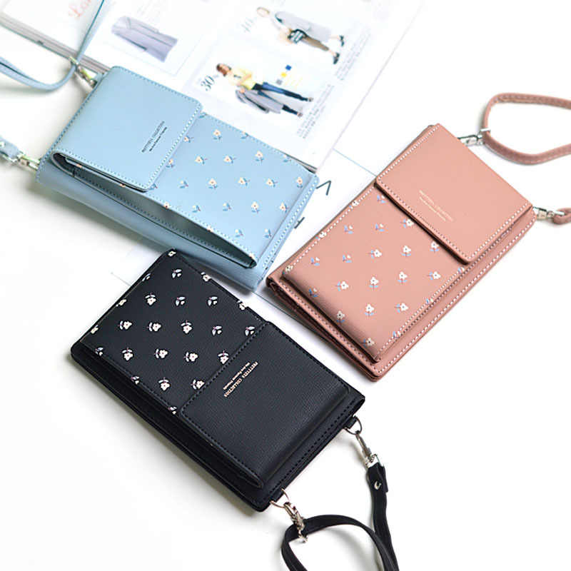 ac64d19204f ... Phone Wallet Crossbody Bags For Women Fashion PU Leather Long Wallets  Female Card Holder Money Bag