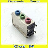 10 pcs-100 pcs 3 em 1 3.5mm Conectores 3.5 Ficha Do Microfone Estéreo Aduio Vídeo PJ-392 Soquete para PC Desktop