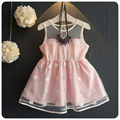 New Pattern Children's Garment Girl Skirt Summer Wear 2016 Han Banchao Princess  Baby Embroidery Wave Point Camisole
