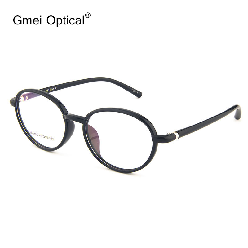 74867a95bf4 Gmei Optical JB5802 Oval Full Rim Frame Eyeglasses for Women Glasses  Spectacles with 5 Optical Colors-in Eyewear Frames from Women s Clothing    Accessories