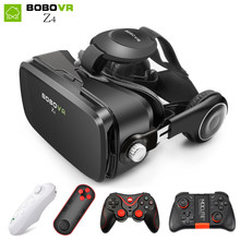 BOBOVR Z4 mini VR Box 2.0 3d glasses Virtual Reality goggles Google cardboard bobo vr z4 vr headset for 4.3-6.0 inch smartphones(China)
