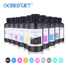 UV Ink For Epson L800 L805 L1800 R290 R300 1390 1400 1410 1430 1500W DX5 DX7 Compatible UV Printer Ink UV Ink Bottle For Epson