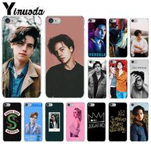Yinuoda American TV Riverdale Jughead Jones Transparent Cell Phone Case for iPhone X XS MAX 6 6s 7 7plus 8 8Plus 5 5S SE XR(China)