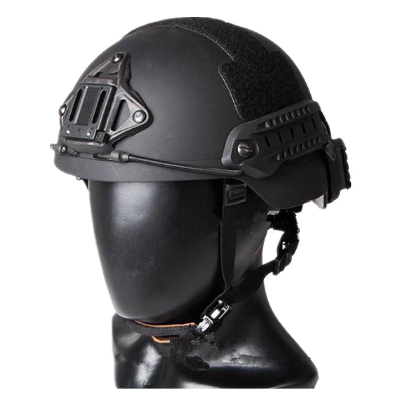 Sentry Helmet (XP) ABS Material Tactical Fast Helmet For Airsoft Paintball Cycling Helmet Black DE FG M L