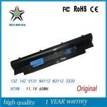 Nouvelle Batterie D'ordinateur Portable D'origine pour Dell Inspiron N311z N411z Vostro V131 V131D V131R 268X5 JD41Y