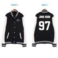 Kpop BTS Hoodies Bangtan Jungen k pop gleichen absatz baseballuniform baseballuniform jacke paar BTS k-pop EXO Sweatshirts