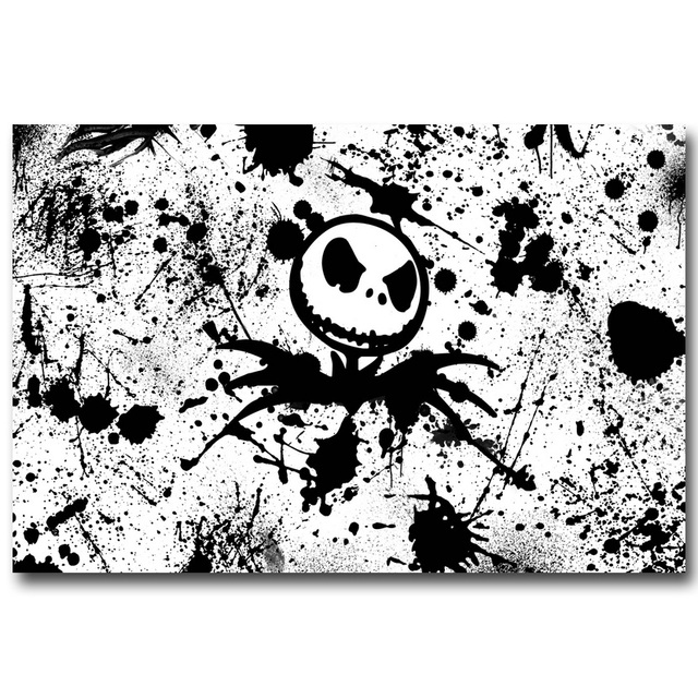 Плакат Гобелен Шелковый Джек повелитель хэллоуина
