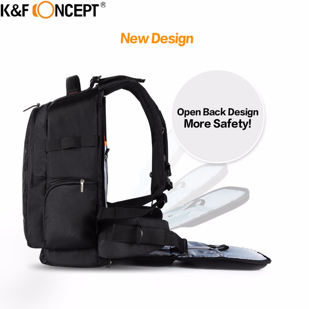 Aliexpress.com : Buy K&F CONCEPT Multifunctional Waterproof Camera Backpack  DSLR Bag + Rain Cover