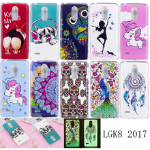 Case For LG K8 2017 X240 Case Luminous Animal Flower Anime Silicone TPU Skin Soft Back Cover Phone Case for LG K8 2017 X240 5.0
