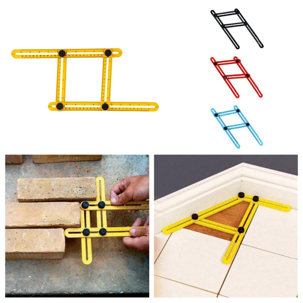 New font b Measuring b font font b Instrument b font Angle izer Template Tool Four