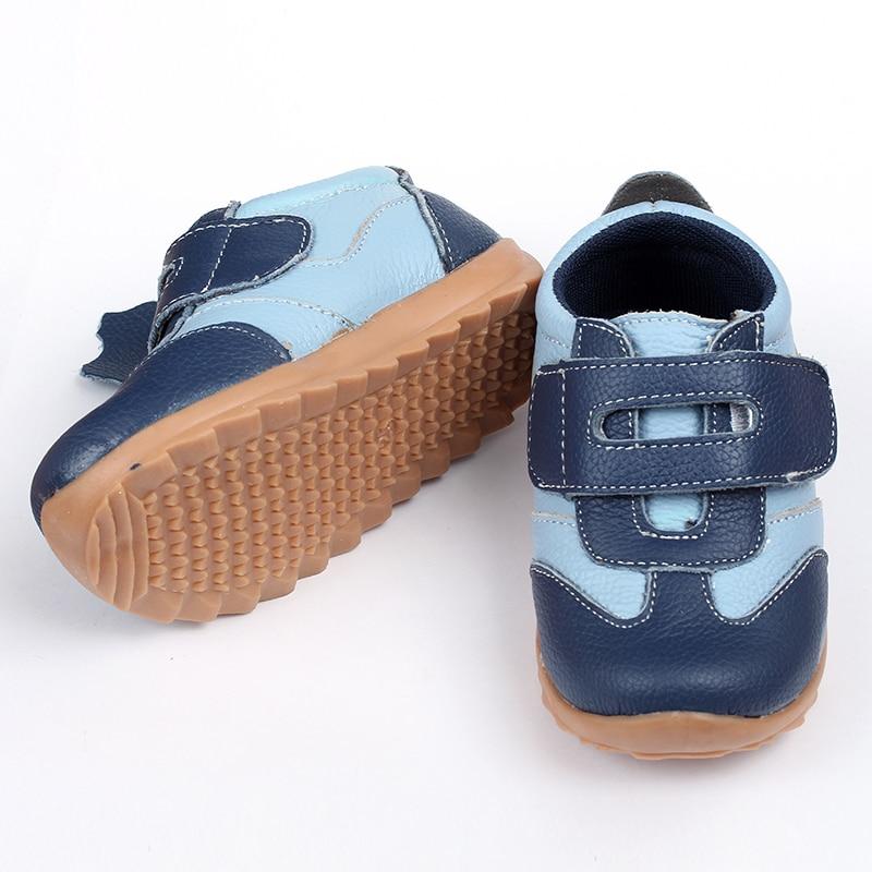 Leder Baby Turnschuhe Casual Babyschuhe Blau Kleinkind Kinder Schuhe - Babyschuhe - Foto 4