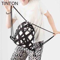 TINTON 2018 novas senhoras da moda leopardo saco de cordão personalidade diagonal saco senhoras pacote de doces único M171223149 Unicórnio