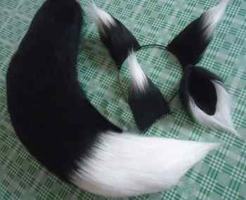 New Anime Spice and Wolf Holo Fox Kamisama Kiss Kamisama Hajimemashita Ears Tail Cosplay Prop