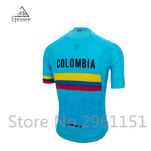 45795661c64 Pro Men's Team Colombia cycling Jersey Bicycle maillot breathable Ropa  Ciclismo MTB Short sleeve bike clothing