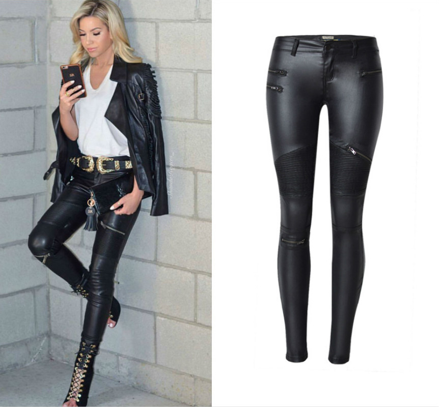 Locomotive Section Fashion Low Waist Jeans Women Europe America PU Quality Black Skinny Pantalon Femme Push Up Sexy Jeans Mujer 2011 2017 summer overalls women jeans fashion elastic skinny jeans women harajuku pantalon femme push up denim jeans womens