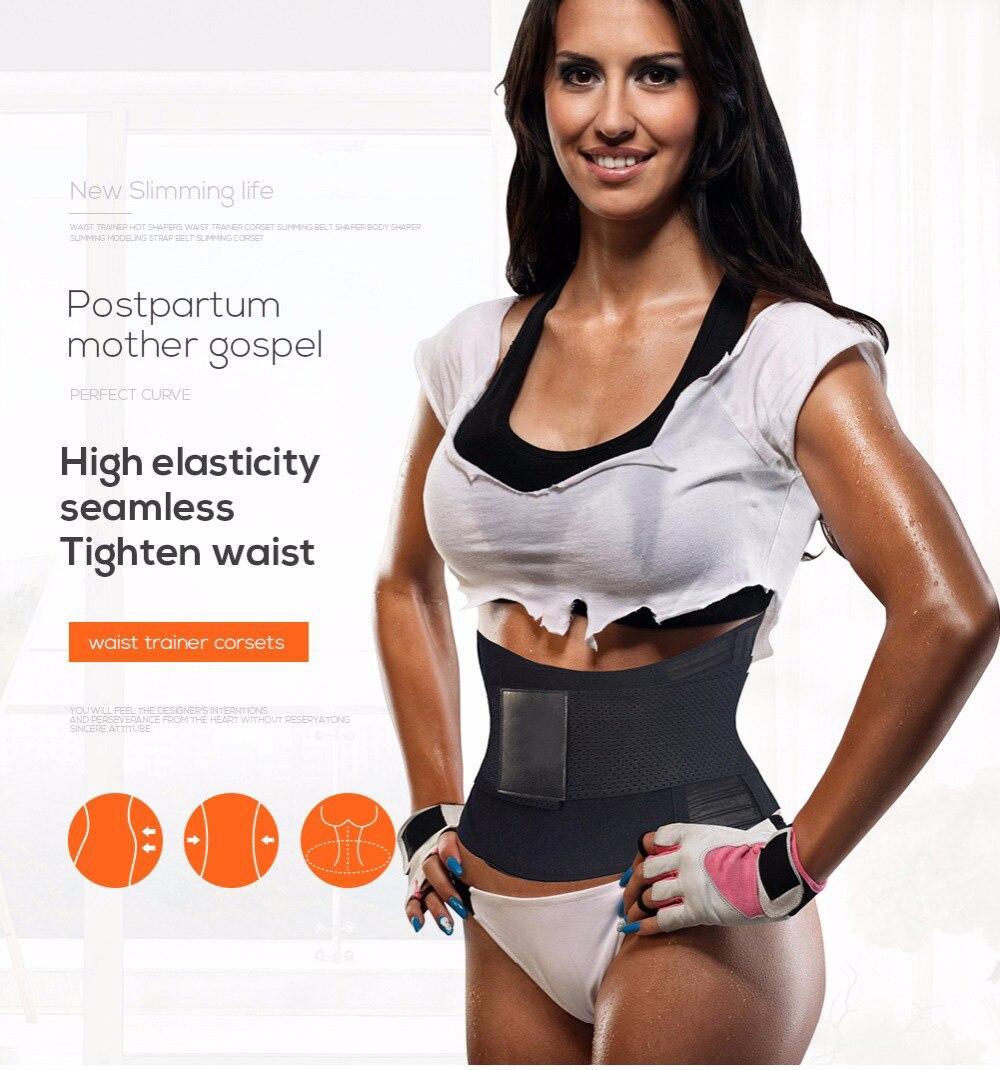 ed52dc0dabc96 corrective underwear: slimming belt waist shaper: shapewear women corset  shaper: binder trans waist cincher: waist slimmer high waist shape wear:  body ...