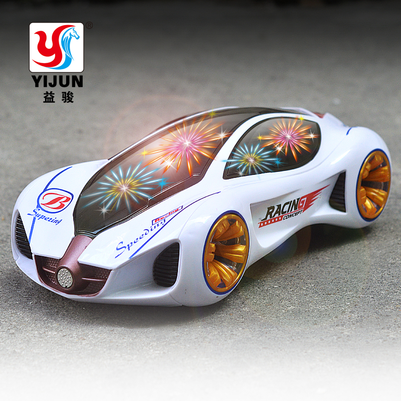 Hot Sale 3D Flashing Led Light Music Car Electric Toy Cars Kids Toy Childrens Gift Diecast Toy Vehicles