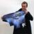 Moda Spandex Impressão de Spray À Prova D' Água Bagagem de Viagem Capa Grossa Elástica 18-30 polegada Anti-poeira Tampa Da Mala com Zipper