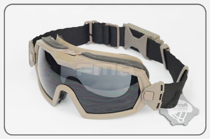 New TBFMA LPG01BK12-2R Regulator Goggle Updated Version With Fan TB1029 Tactical Airsoft Paintball Combat Protective Eyewear