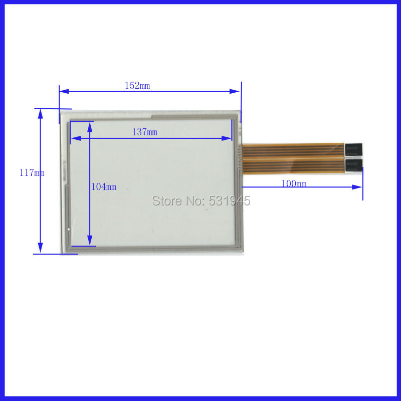 ZhiYuSun NEW 8 Inch Touch Screen 152*117  for CMTOUCH241   for industry applications  152mm*117mm zhiyusun new 10 4 inch touch screen 239 189 for industry applications 239mm 189mm 8 lins 47f8104025 r13 commercial use