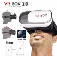 VR BOX 2 0 Original 3D VR Headset Virtual Reality Glasses For 3 5 6 0