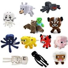 Minecraft font b Plush b font font b Toys b font 13 Styles Soft Stuffed Animal