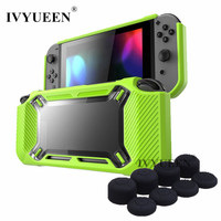 IVYUEEN Anti Scratch Protective Case For Nintend Switch NS Console Heavy Duty Slim Rubberized Hard Case