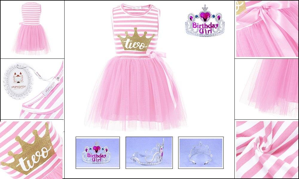 311833e95e89 PaMaBa Ένα δύο ετών παλιά κορίτσια μωρό Tutu φόρεμα Bebe Ρούχα ...