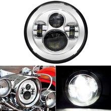 """7 """"LED Luz Principal de La Lámpara de Proyección para Harley-davidso Harley Touring Softail Road King Electra Glide Street Pegatinas"""