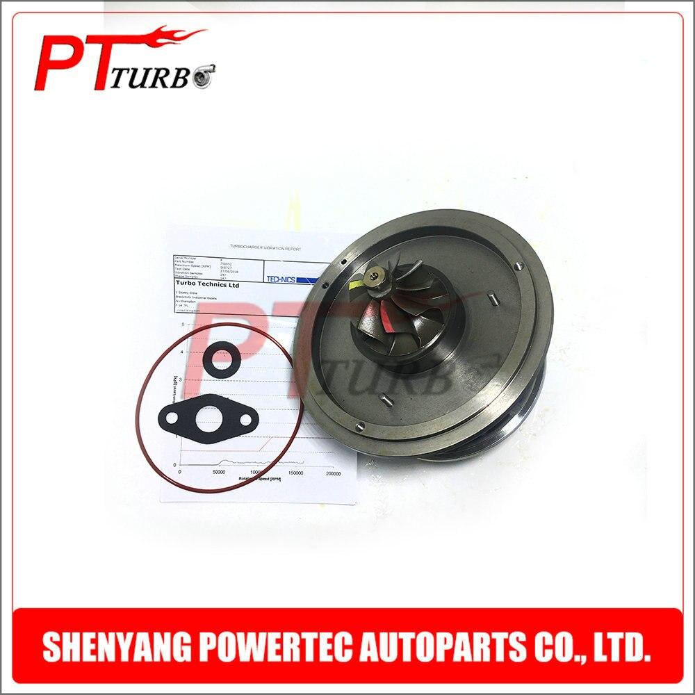 New Turbine GT1752V Cartridge Core CHRA Turbo For BMW 120D E87 M46TU 163 HP 2005- 11657793865 / 11657793866 / 11657798055