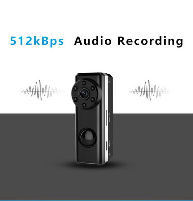 HD 1080P Mini Camera Portable Camera Covert Nanny Cam Video Recorder Camcorder Built-in 3300 mAh Battery Long Standby one year