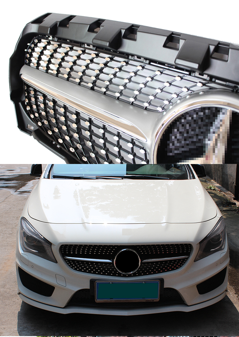Accessories Storage Front Door Fit for Benz CLA GLA Class 14-18 2Pcs Box Holder