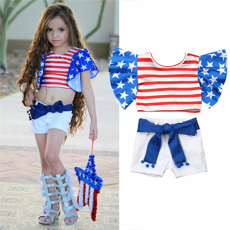 First 4th of July Outift July 4th Girls July 4th or Toddlers 4th of July OUtfit Independence day baby girl outfit,FREE BOW