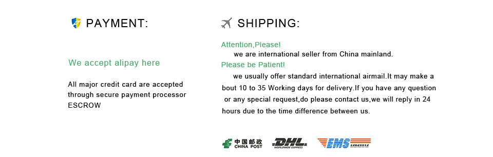 payment and shipping 1