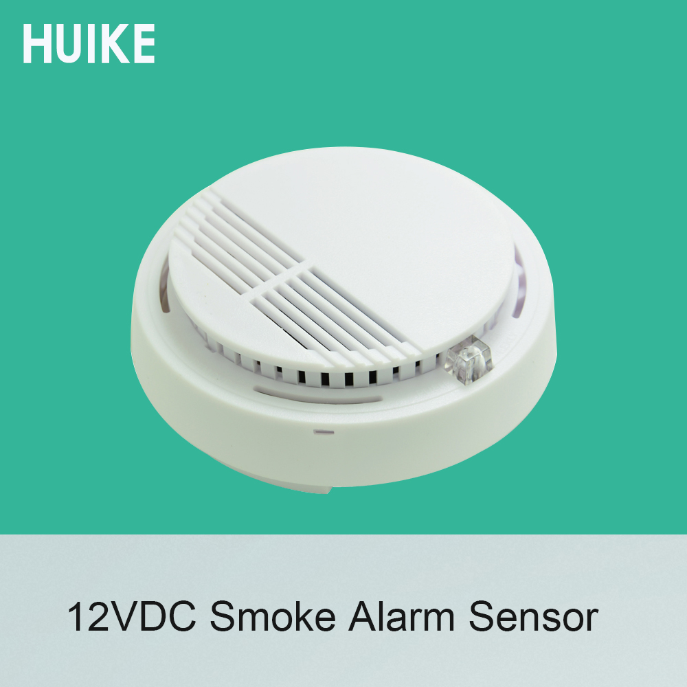 1 PCS Ceiling Smoke Detector DC12V Networking To Alarm System Fire Alarm Sensor NC NO Signal Options